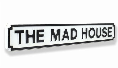 The Mad House New Shape Clean White